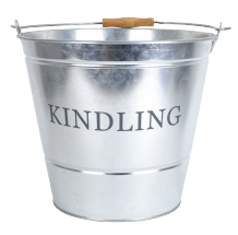 Kindling Bucket - Galvanised